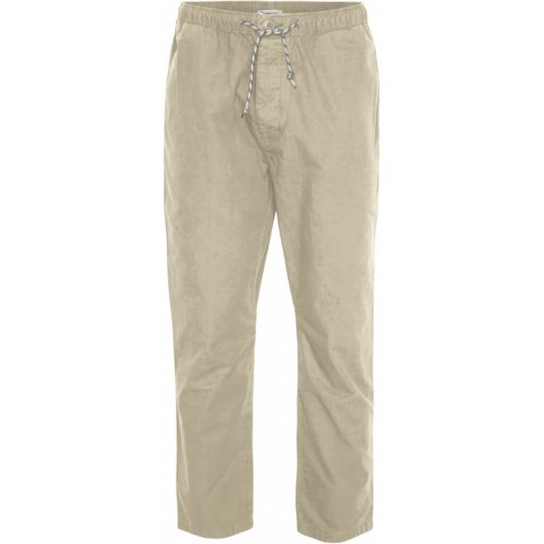 Knowledge-Cotton  Sommer Chinohose Birch Bio-Baumwolle Fairtrade Beige