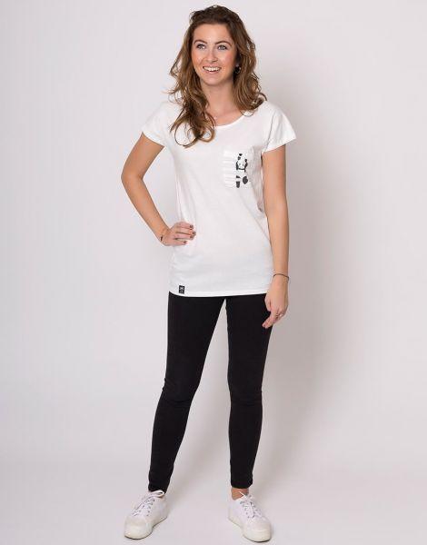 Zerum Panda Damen T-Shirt Lea
