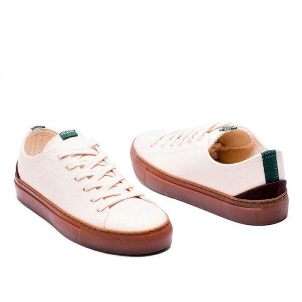 Vesica Piscis Sneaker Coretta ungefärbt Vegane Turnschuhe