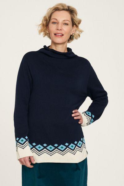 Tranquillo Winterlicher Strick-Pullover