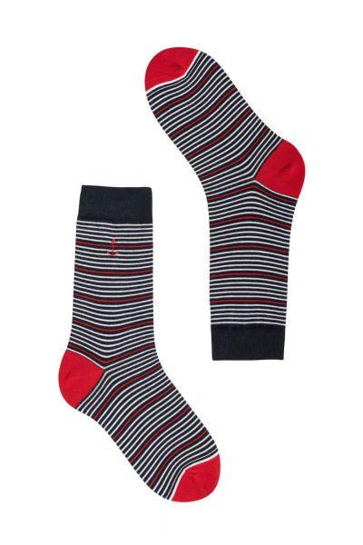 Recolution gestreifte Socken mit Anker