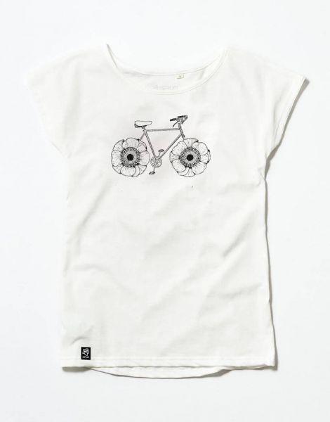 Zerum Shirt Lea Fahrrad Blumenräder
