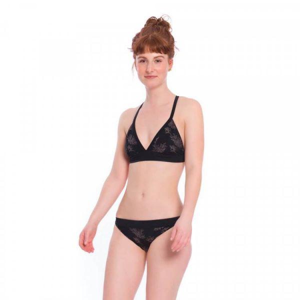 Bleed Econyl Bikini Top Kreuzträger nachhaltige Bademode