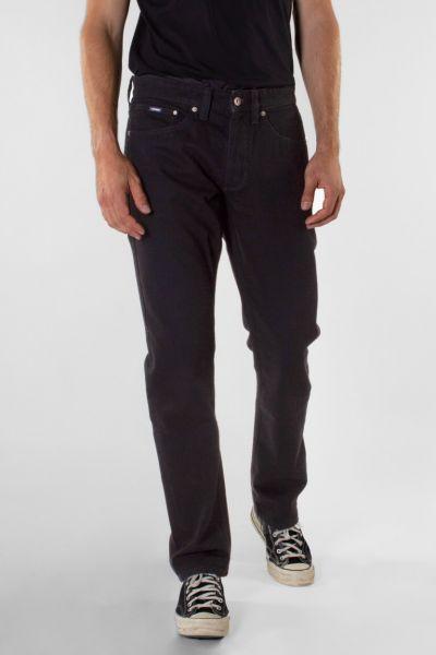 Kuyichi Scott Regular Men-Jeans Vintage Schwarz