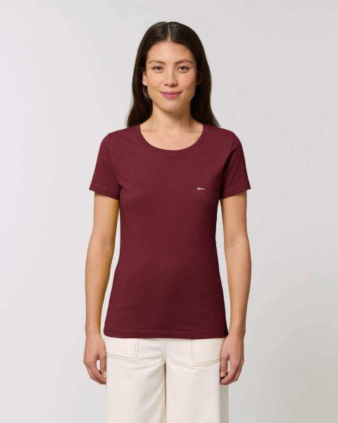 Oikos Damen T-Shirt Slimfit GOTS Nachhaltig Fairtrade