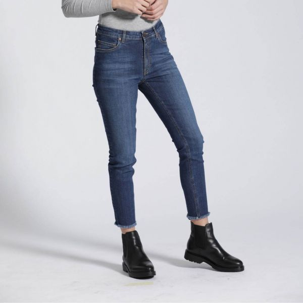 Feuervogl Hanna Highwaist Jeans Skinny Cropped