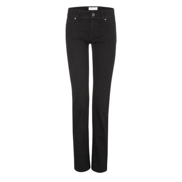 Good Society Women Straight Jeans Black-One-Wash