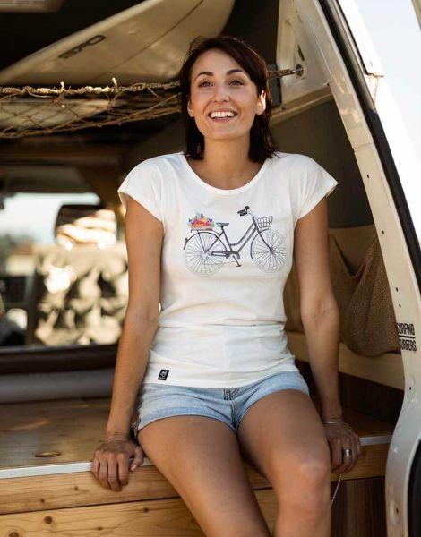 Zerum Damenrad T-Shirt Lea Bio vegan Fair