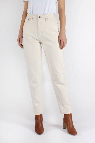 Kuyichi Mom Jeans Undyed Fairtrade Bio-Jeans Ungefärbt
