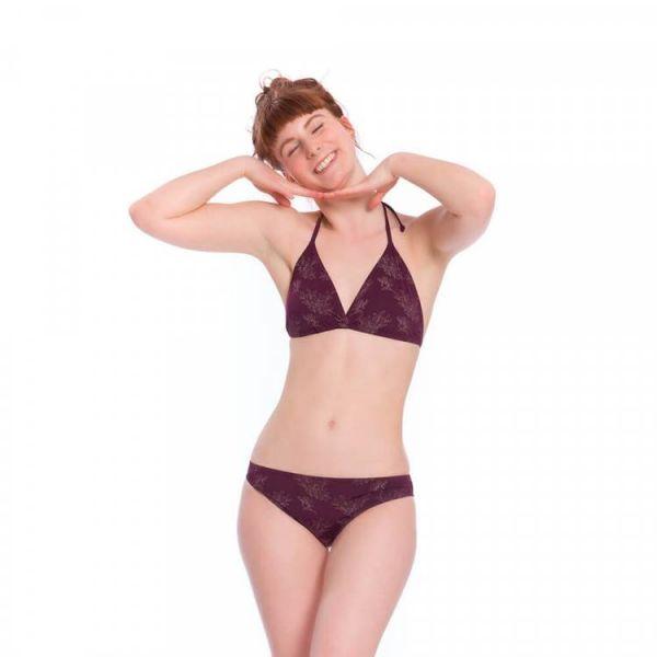 Bleed Econyl Triangel-Bikinitop mit verstellbarer Schnürung nachhaltig