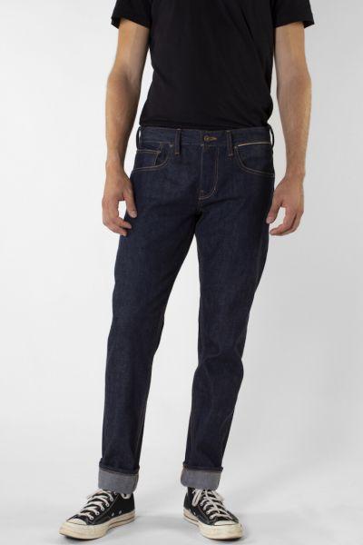 Kuyichi Jeans Jim Tapered Selvedge Darkdenim Fairtrade
