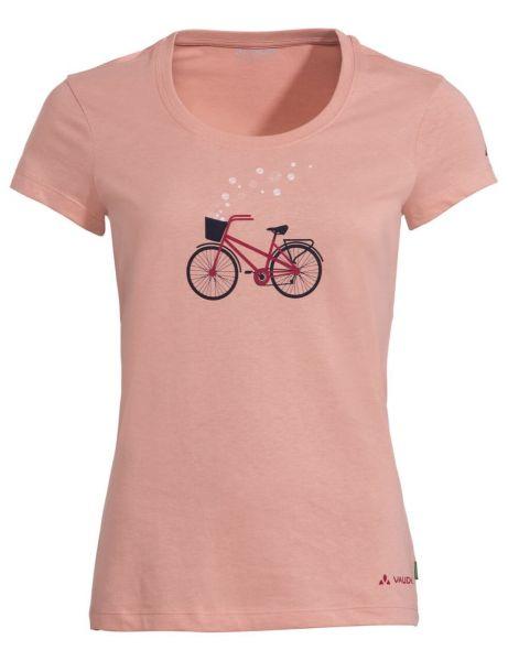 Vaude Woman Fahrrad T-Shirt Nachhaltig Fair Apricot