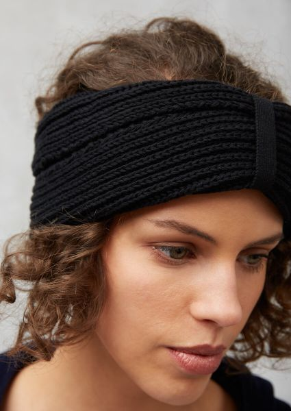 Recolution Stirnband Vegan Fairtrade schwarz