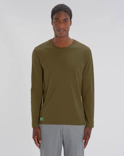 Oikos Men Basic Longsleeve Shirt Nachhaltig Fairtrade