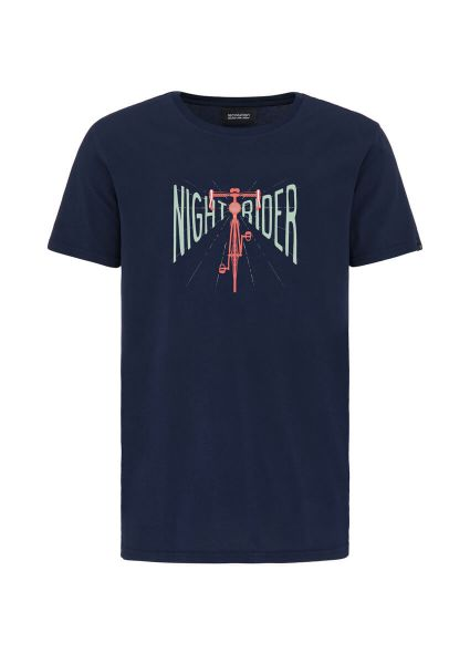 Recolution Nightrider Männer T-Shirt Rennrad Fairtrade GOTS