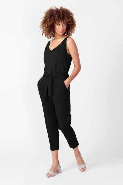 SKFK Lekuine elegante Chino Culotte Recyceltes Polyester