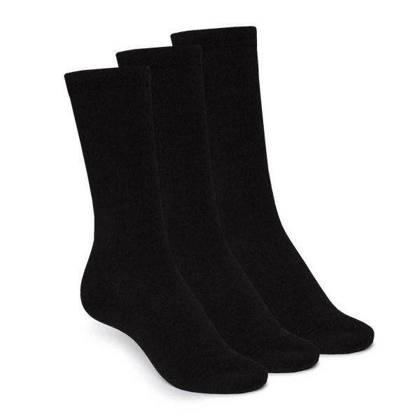 Thokk Thokk 3er Pack Schwarze Socken High