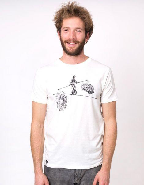 Zerum Balance Männer T-Shirt Basic Bio Fair