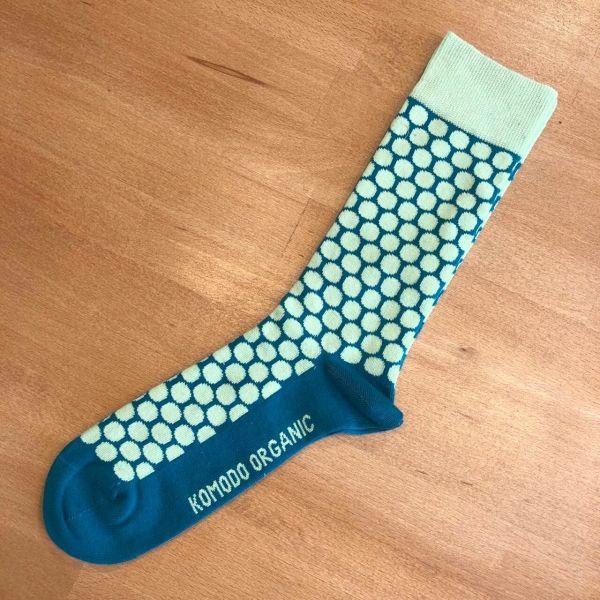 Komodo Pünktchen Socken Bio-Baumwolle