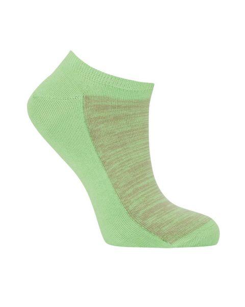 Komodo kurze Sneaker Socken Hellgrün Fairtrade Bio-Baumwolle