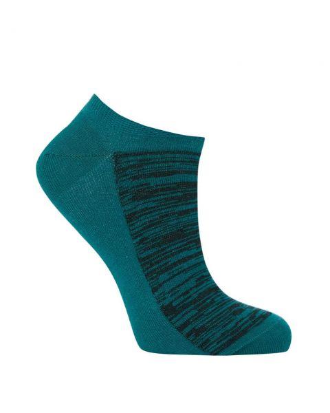 Komodo kurze Sneaker Socken Petrol Fairtrade Bio-Baumwolle