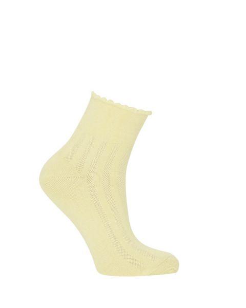 Komodo Damen Mesh-Socken Fairtrade Gelb Bio-Baumwolle