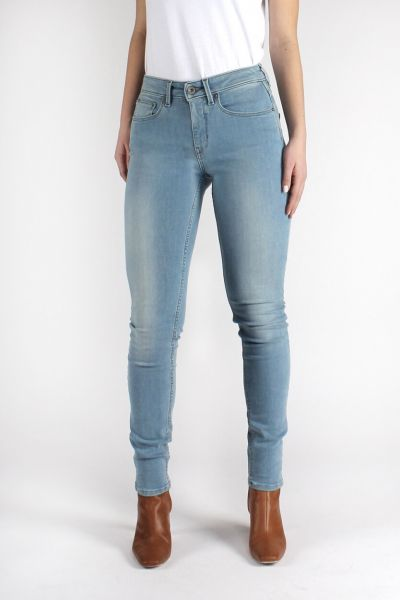 Kuyichi Jeans Carey High-Waist Skinny Totally Light Blue