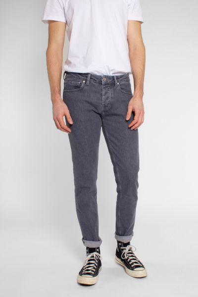 Kuyichi Jamie Slimfit-Jeans Aged Grey recycelt Fairtrade