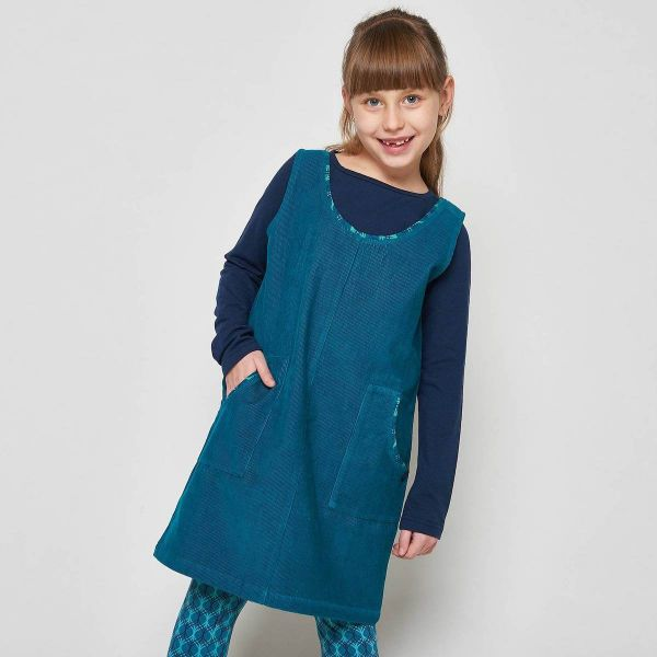 Tranquillo Kinder Herbstkleid Cord, Cassiopeia