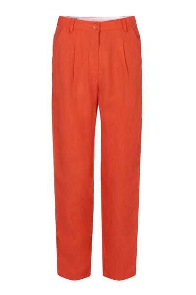 Komodo Hose Lila Unifarbig orange