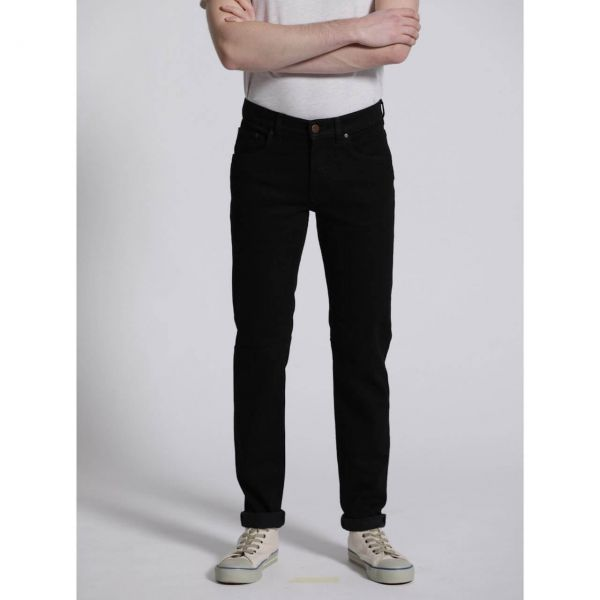 Feuervogl Finn Slimfit Jeans Black Nachhaltig Fair