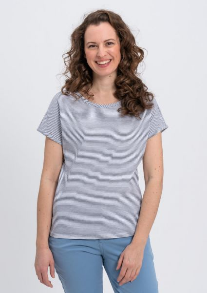 Recolution gestreiftes Casual T-Shirt Bio vegan Fair