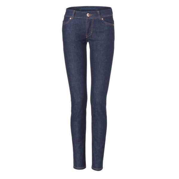 Good Society Women Slimfit Jeans Raw-One-Wash